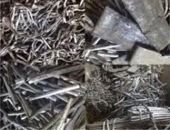 Scrap of lead cable