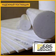 Fluorine plastic rod 50 mm (~ 1000 mm ~ 4.6 kg) extrusion TU 6-05-041-535-74