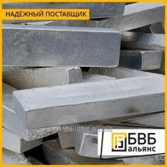 El lingote de metal el manganeso Mn998
