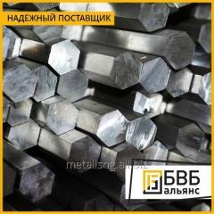 Шестигранник нержавеющий 19 мм AISI 304 ISO H9