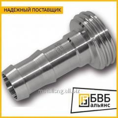 Nipple conical stainless steel DN AISI 304 80 reducer 2036