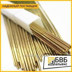 Los electrodos de soldar de bronce 22 mm h 15 mm
