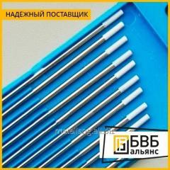 Los electrodos de soldar de volframio В3К, В3К-Р