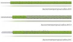 High-temperature cables for heating of VNO, VNOEO,