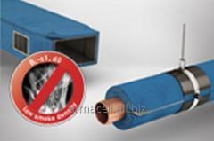 Гибкая теплоизоляция из вспененного каучука с низким коэффициентом дымообразования для увеличения безопасности людей Armaflex Ultima