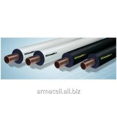 Heat-resistant insulation for pipes