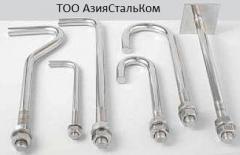 Анкерные фундаментные болты ГОСТ 24379.1.80 Тип 1.1