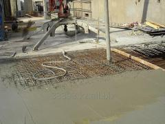 Plasticizing agent for concrete