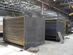 Air heaters, tubular