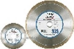Diamond disk for a tile, a tile, ceramics of