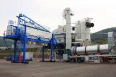 Asphalt concrete plants in Kazakhstan