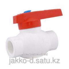 Вентиль шаровый ППР  белый 20 Jakko