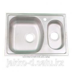 Мойка врезная гладкая левая (1,5) 0,7 mm 100x50 Donau