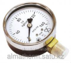 Манометр (нижнее подкл.)  10 бар  63 мм Simga
