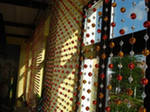 Curtains from beads
