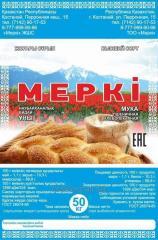 Mepki Kazakhstan flour