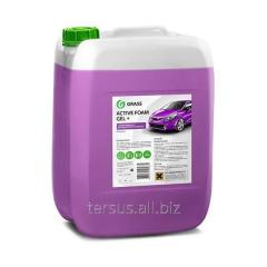Active foam for car washes