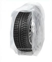 Polyethylene bags for packaging of tires