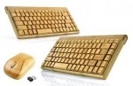 The wireless bamboo keyboard + a mouse, pass