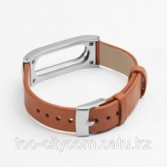 Leather bracelet for Mi Band