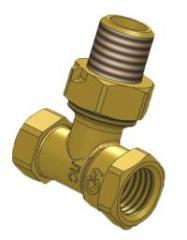 The valve 15, locking regulating angular for