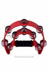 Alice ATB-002 tambourine red