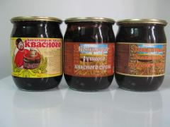 Concentrate of kvass mus