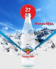 Medical and table mineral water Zhalal-Abad 27
