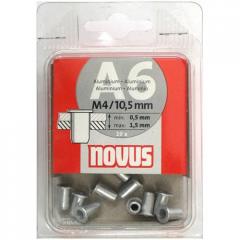 Novus 045-0041 rivets secret a6kh10,5mm 10 pieces.