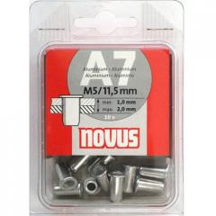Novus 045-0042 rivets secret a7kh11,5mm 10 pieces.