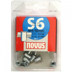 Novus rivets 045-0044 secret s6x10mm 10 of piece.