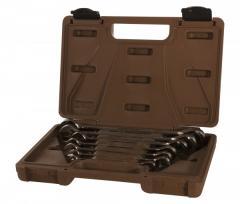 Set of keys of 8-19 mm combined treshchotochny