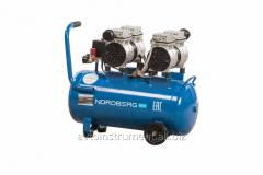 The compressor is piston oil-free, volume is 100 l