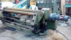 Listogibochny rollers, pipe bender