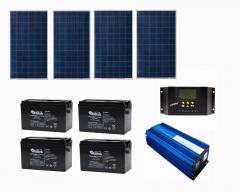 Солнечная батарея 2,4 кВт