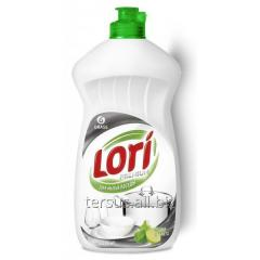 Dishwashing liquid for washing with hands