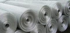 Grid welded galvanized 25х25х1.45х1000х30000