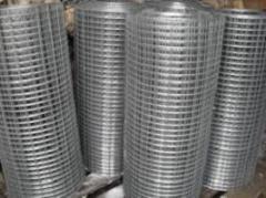 Grid welded galvanized 20х20х1.0х1000х30000 solder