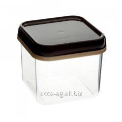 Bank a square 0,6l for loose products the Article: