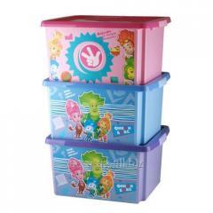 Фиксики Ящик для игрушек 30л Артикул : 48022