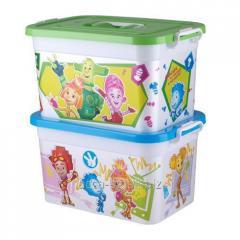 Фиксики Ящик для игрушек 10л Артикул : 81022