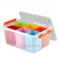 Ящик для игрушек 15 л 410*295*183 Профи Kids