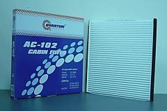 AC-102 Салонный фильтр Quantum QAC102