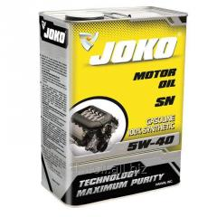 JOKO GASOLINE engine oil of 100% Synthetic SN 5w-40 4 of l JSN504