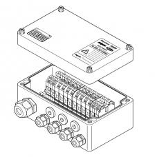 JB-MB-26/16MM2 Проходная коробка (7xM25 + 1xM32)