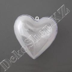 Заготовка для декупажа Сердце пластиковое,
