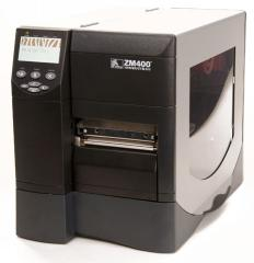 ZEBRA ZM400 THERMOTRANSFER PRINTER