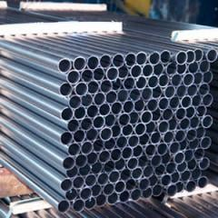 Pipe steel electrowelding zinced with GOST