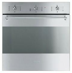The oven is electric, Smeg, CS 381 x-8