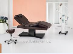 Massage table for Spa of procedures on the